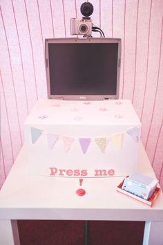 Short dress · Rock n Roll Bride | 1000 Wedding Trends, Diy Wedding, Wedding Reception, Dream Wedding, Wedding Day, Quirky Wedding, Wedding Stuff, Photos Booth, Diy Photo Booth
