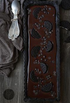 No bake chocolate oreo tart