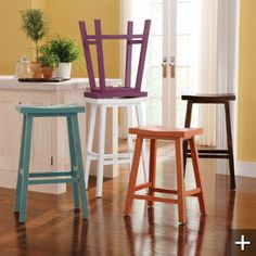 Zhen Bar Stool . . . love these for the island!