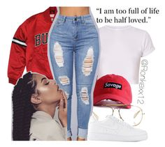 """""""Untitled #50"""" by ronkexx12 on Polyvore featuring CÉLINE and NIKE"""