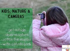 Teach Kids Photography kids, nature, and cameras = lots of learning and outside fun! Nature Activities, Activities For Kids, Outdoor Activities, Teaching Kids, Kids Learning, Learning Tools, Spring Sign, Spring Theme, Outdoor Classroom