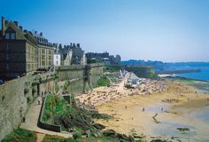 St Malo, France - charming port city where Jacques Cartier departed for the new world.