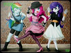 They're So Unusual. No-Effect Ver. -->  Reference:Cyndi Lauper - Girls Just Want To Have Fun (Official Video)