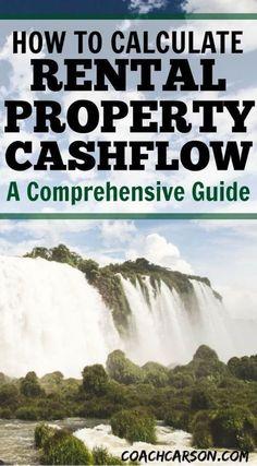 How to Calculate Rental Property Cashflow - A Comprehensive Guide #realestatemarketingideas