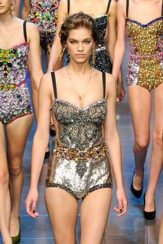 bodysuits - glitter, sparkling, jewelery