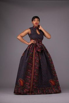 Here at Grass-fields we have an awesome range of African dress designs. Whether you're after an African print maxi or midi dress, we've got something for you. African Wedding Dress, African Dresses For Women, African Attire, African Wear, African Style, African Print Fashion, Africa Fashion, African Prints, Ghana Fashion Dresses