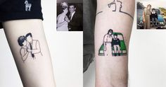 Alican Gorgu minimalistic tattoos immortalize your memories on your skin http://www.konbini.com/us/lifestyle/masters-of-ink-alican-gorgu-photo-tattoos/