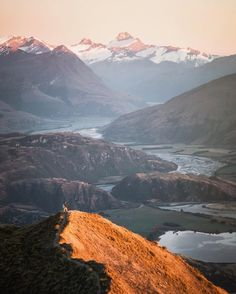 From such great heights. #NZMustDo [📍Lake Wanaka, South Island. ���