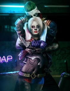 SUICIDE SQUAD, Joker and Harley Quinn Fan Art