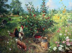 Vladimir Zhdanov, 1959   Siberian landscape painter