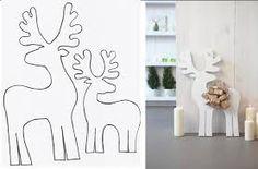 Resultado de imagen de ciervos y renos de manualidades