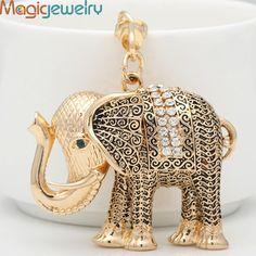 Classic Ethnic Elephant Keychain