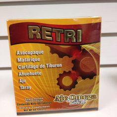 Tabletas Retri, para Dolores Musculares Y de las articulaciones, Reumatismo, Gota, Calambres, Artritis, Ciatica