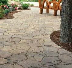 Natural Stone looking Pavers
