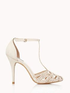 Night Moves T-Strap Heels, $39.80, Forever21
