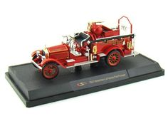 Santas Tools and Toys Workshop: Toys: 1921 American LaFrance Fire Pumper 1/32 Red