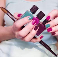 Ideas For Nails Pink Pedicures Love Nails, Pink Nails, Pretty Nails, My Nails, Shellac Nails, Gel Manicure, Nail Polish, Pink Pedicure, Uñas Diy