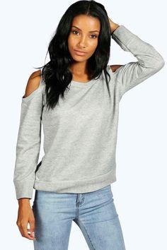 Saskia Cold Shoulder Sweatshirt