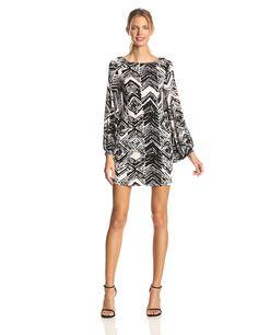 Lark Bishop-Sleeve Dress by Rachel Pally