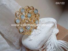 Μπομπονιέρα βάπτισης δέντρο της ζωής με βότσαλο Napkin Rings, Brooch, Wedding, Jewelry, Decor, Valentines Day Weddings, Jewlery, Decoration, Bijoux