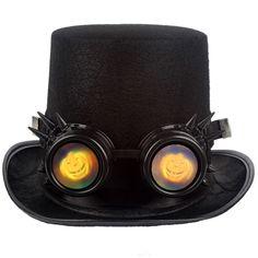 R  17.85 5% de desconto Nova Chegada Óculos Steampunk Estilo Gótico Cosplay  Dia Das Bruxas Engraçado Do Vintage Rebite Óculos Steampunk em Óculos de sol  de ... 00ccb49083