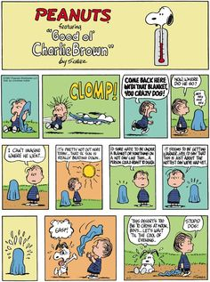 Moral: don't steal blankets on a hot day. Peanuts for 8/17/2014 | Peanuts | Comics | ArcaMax Publishing