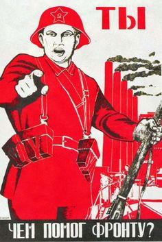 Propaganda-Plakate aus dem Ostblock