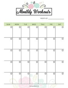 2019 Fitness Planner Free Printable - Organize your health goals for It in. 2019 Fitness Planner Free Printable - Organize your health goals for It includes a monthly meal planner, workout planner, weekly health log and more.