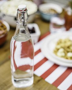 Classic n' Clear Glass Bottle