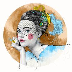 + Ilustração :     Belíssimos trabalhos por Mustafa Soydan, inspirados nos signos do zodíaco.