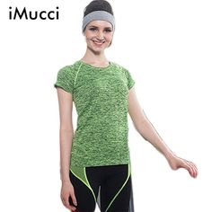 Dry Quick Gym T shirt Women Compression Tight Women's Sport T shirts Running Short Sleeve T-shirts Fitness Women T-shirts & Tops