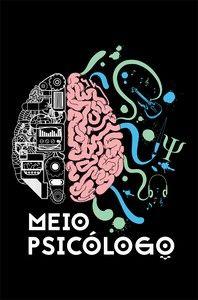 Camisa Psicologia - Cute But Psycho - Preta - Basic - Estampamos a melhor fase da sua vida!   Trinca Camisas Cute But Psycho, Dark Princess, 9 And 10, Psychology, Brain, Wallpaper, Aquarius, Creative, Illustrations