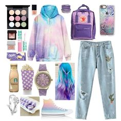 I am Yours by lucyheartyui on Polyvore featuring moda, WithChic, Converse, Fjällräven, Geneva, Casetify, MAC Cosmetics, Maybelline, Laura Mercier and Sisley