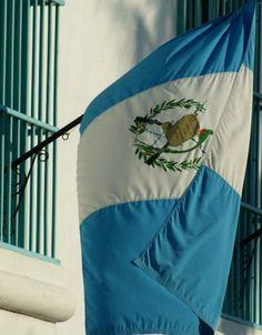Nuestra hermosa bandera de Guatemala!