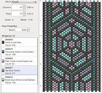 Beading: Peyote Stitch Pattern 15