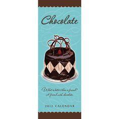 Chocolate 2012 Vertical Wall Calendar