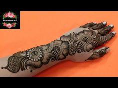 Back Hand Mehndi Designs, Arabic Henna Designs, Mehndi Designs For Girls, Stylish Mehndi Designs, Dulhan Mehndi Designs, Wedding Mehndi Designs, Mehndi Design Pictures, Mehndi Designs For Fingers, Latest Mehndi Designs