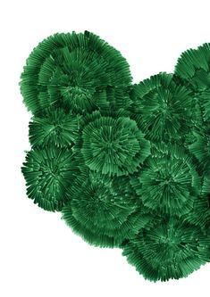 Dessin de Ronan Bouroullec (The Wrong Shop) 17 Painting Inspiration, Art Inspo, Art Vert, Green Art, Shades Of Green, Art Forms, Line Art, Wall Art Prints, Art Photography
