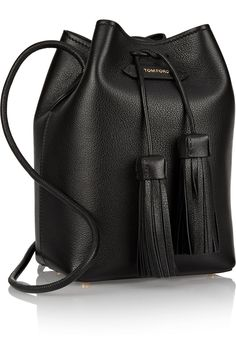 Tom Ford Textured-leather bucket back
