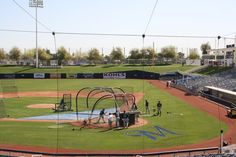 The field at Maryvale.