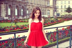 RASPBERRY AND RED: LE JARDIN DU LUXEMBOURG