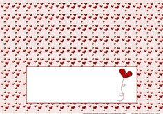 Valentine bird or bear Large DL insert on Craftsuprint - Add To Basket!