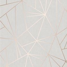 Henderson Interiors Camden Apex Glitter Wallpaper Rose Gold - Wallpaper from I Love Wallpaper UK Striped Wallpaper Silver, Copper Wallpaper, Rose Gold Wallpaper, Glitter Wallpaper, Vinyl Wallpaper, Love Wallpaper, Textured Wallpaper, Multicoloured Wallpaper, Stripe Wallpaper