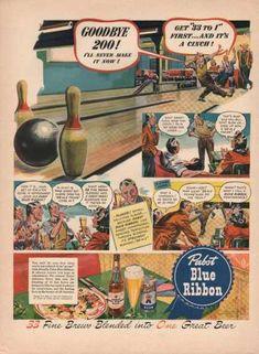 Pabst Blue Ribbon Beer (1942)