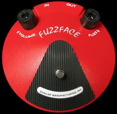 Dunlop Fuzz Face JD F2 Guitar Effects Pedal Stompbox