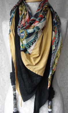 patchwork scarf by fairytale13.etsy.com