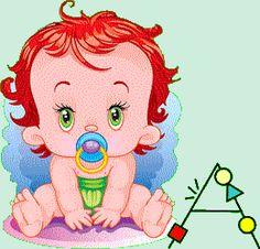 Alfabeto animado con bebé con chupete. | Oh my Alfabetos!