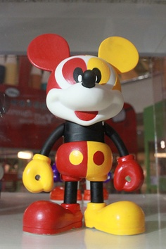 Mickey by Mastercard at the 'Mickey Mouse Through the yEars' exhibition at Mid Valley Megamall, KL
