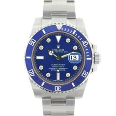 Redefine your luxury expectations by picking a stunning Rolex Submariner Ceramic Bezel watch with white gold case from Limited Watches. Tagged as the typical diver's watch Rolex Submariner with Cerami