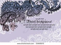 Floral Lace Stock Photos, Images, & Pictures | Shutterstock